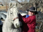 Image of Marcy Jordan & Grey Ghost